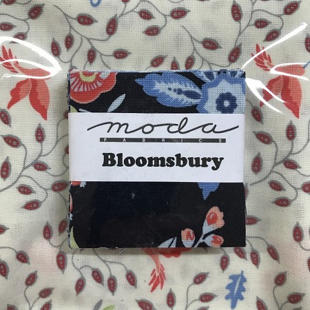 Bloomsbury Mini Charms with Fat Quarter