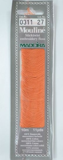 Col 0311 6 stranded Mouline embroidery thread