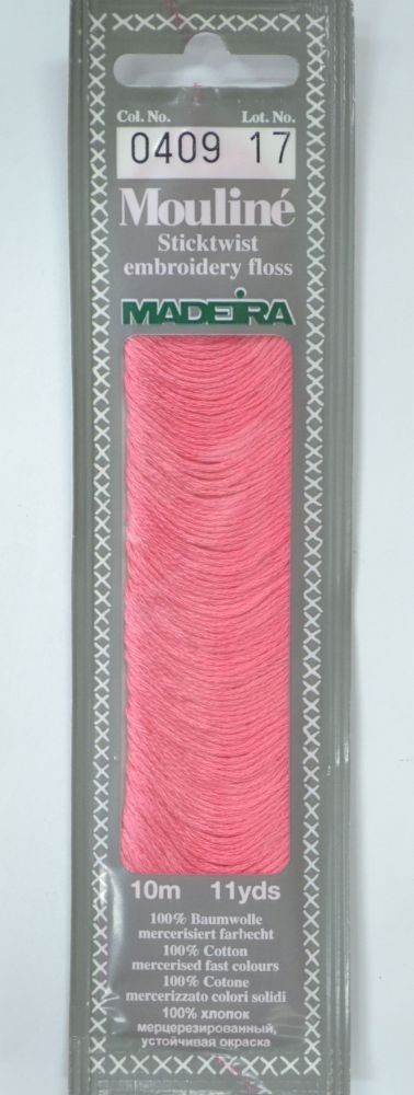Col 0409 6 stranded Mouline embroidery thread