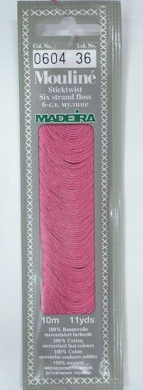 Col 0604 6 stranded Mouline embroidery thread