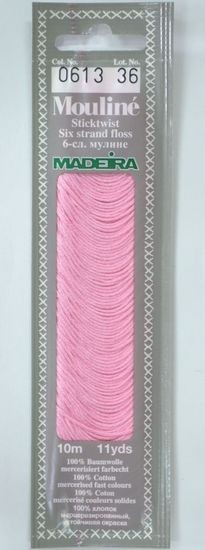 Col 0613 6 stranded Mouline embroidery thread