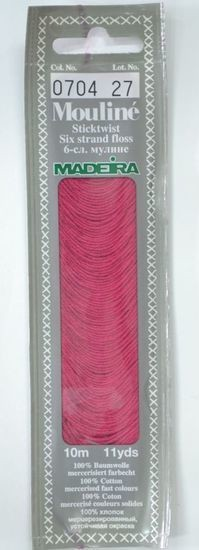 Col 0704 6 stranded Mouline embroidery thread