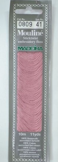 Col 0809 6 stranded Mouline embroidery thread