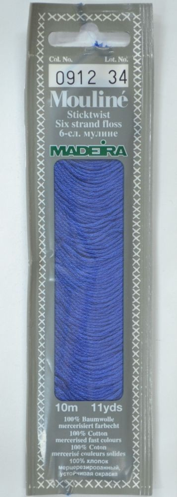 Col 0912 6 stranded Mouline embroidery thread