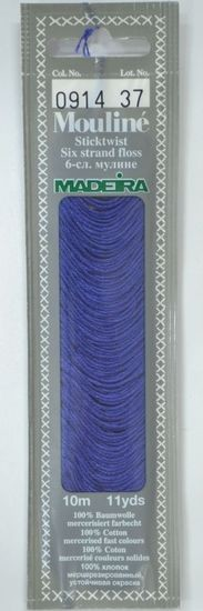 Col 0914 6 stranded Mouline embroidery thread