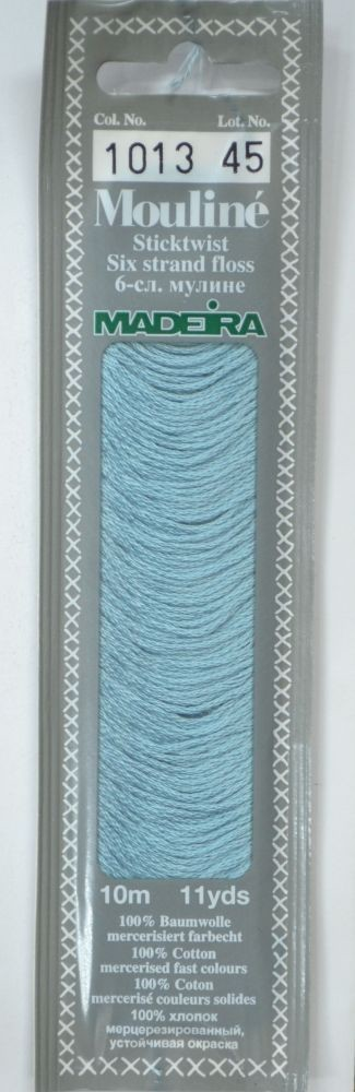 Col 1013 6 stranded Mouline embroidery thread