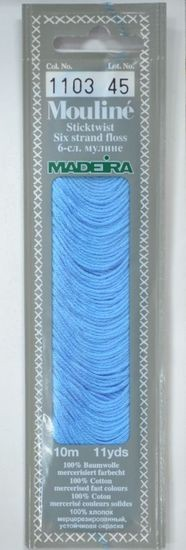Col 1103 6 stranded Mouline embroidery thread