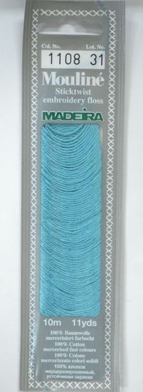 Col 1108 6 stranded Mouline embroidery thread