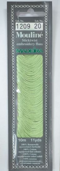 Col 1209 6 stranded Mouline embroidery thread