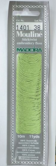 Col 1401 6 stranded Mouline embroidery thread