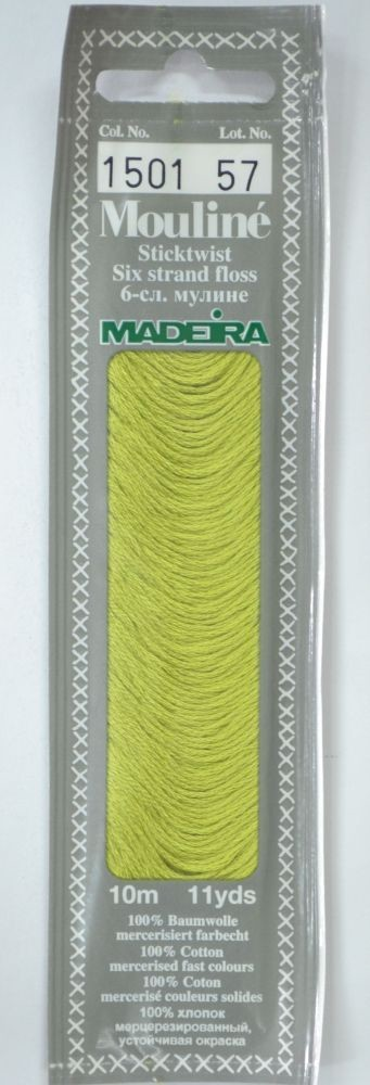 Col 1501 6 stranded Mouline embroidery thread