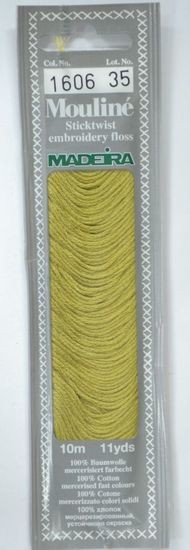 Col 1606 6 stranded Mouline embroidery thread