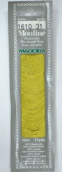 Col 1610 6 stranded Mouline embroidery thread