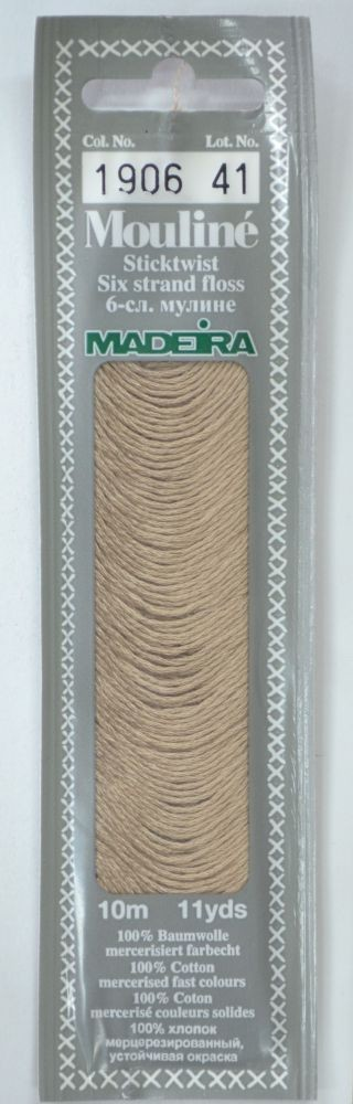 Col 1906 6 stranded Mouline embroidery thread