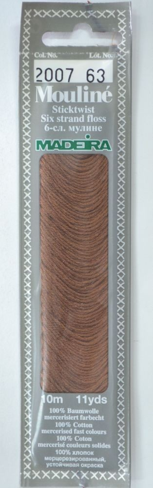 Col 2007 6 stranded Mouline embroidery thread