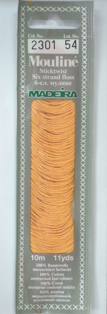 Col 2301 6 stranded Mouline embroidery thread