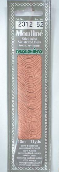 Col 2312 6 stranded Mouline embroidery thread
