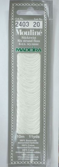 Col 2403 6 stranded Mouline embroidery thread