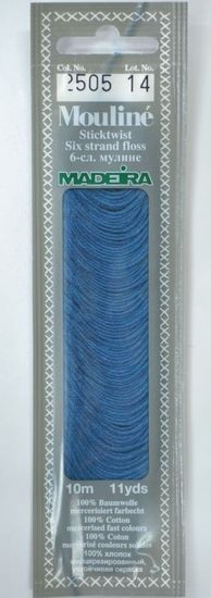 Col 2505 6 stranded Mouline embroidery thread