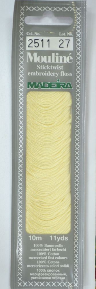 Col 2511 6 stranded Mouline embroidery thread