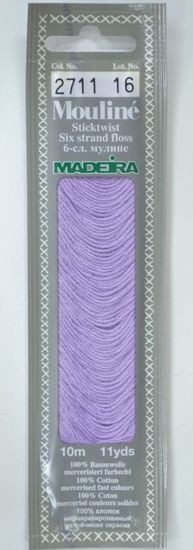 Col 2711 6 stranded Mouline embroidery thread